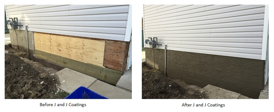 Finishing Basement Walls Exterior : Non traditional uses for parging edmonton