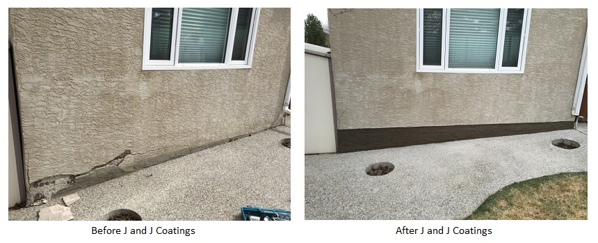 Where Can Parging Be Used In The Home Edmonton Parging Contractors J And J Coatings