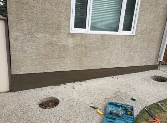 Edmonton stucco repair
