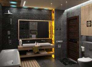 Edmonton Stone Veneer Bathroom