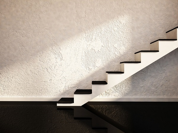 Parging/Stucco coating on walls
