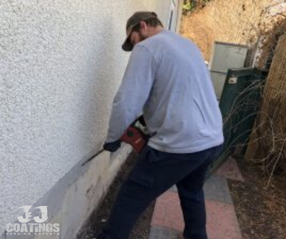 House repair parging